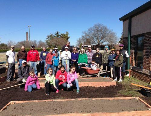 N.C. Church Helps Public School Build Garden