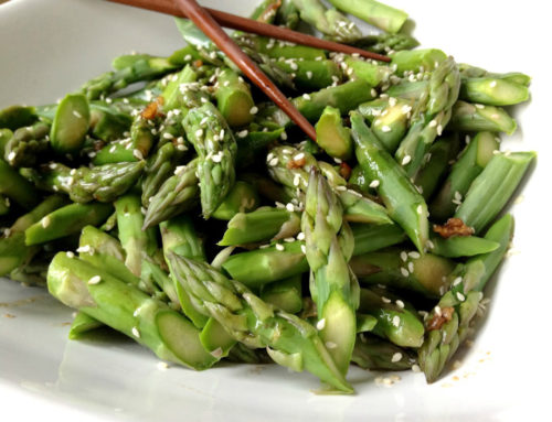 Asian Asparagus Salad